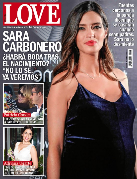 LOVE portada 12 de Noviembre 2013