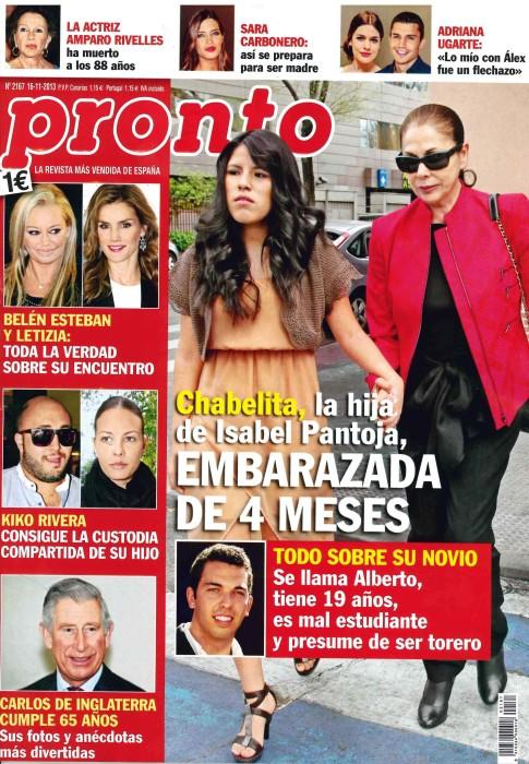 PRONTO portada 11 de Noviembre 2013