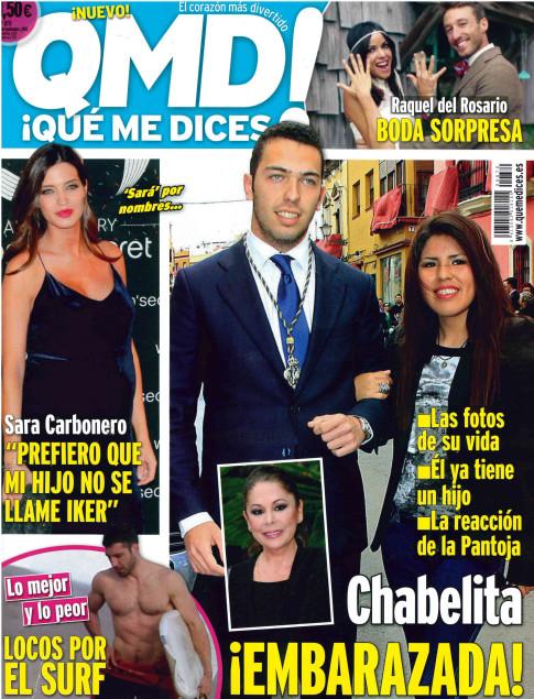 QUE ME DICES portada 11 de Noviembre 2013