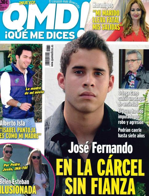 QUE ME DICES portada 18 de Noviembre 2013