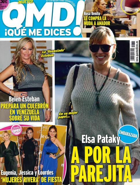 QUE ME DICES portada 25 de Noviembre 2013