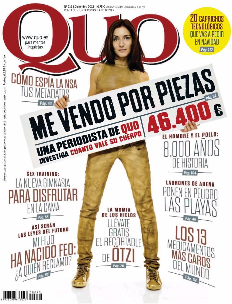 QUO portada Diciembre 2013