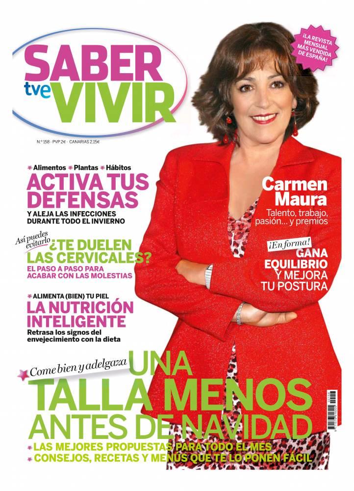 SABER VIVIR portada Diciembre 2013
