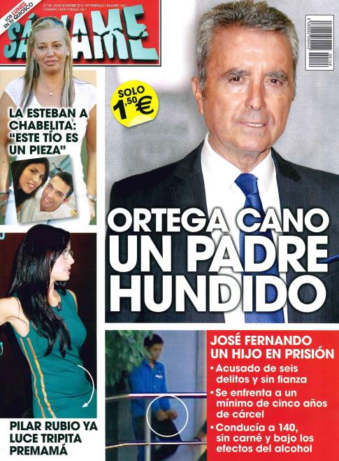 SALVAME portada 18 de Noviembre 2013