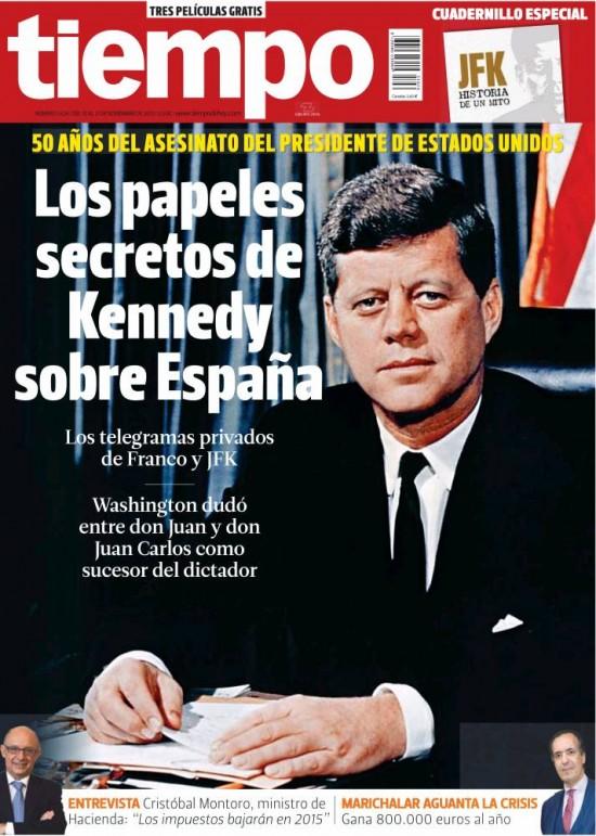 TIEMPO portada 17 de Noviembre 2013