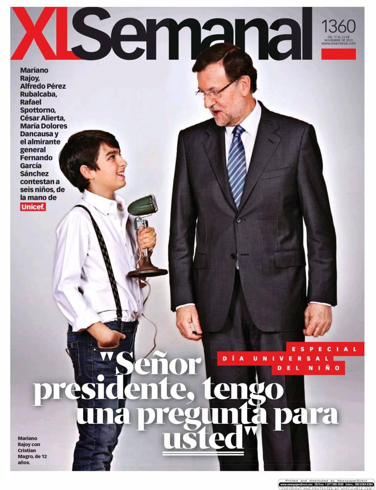 XL SEMANAL portada 17 de Noviembre 2013
