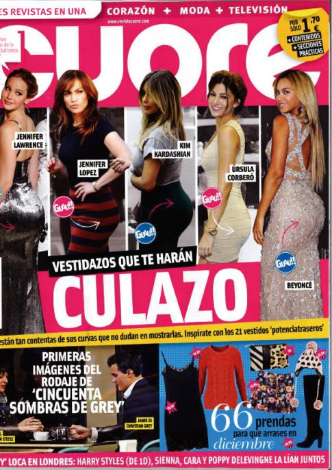 CUORE portada 4 de Diciembre 2013