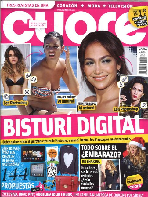 CUORE portada 18 de Diciembre 2013