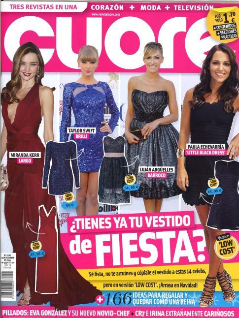 CUORE portada 23 de Diciembre 2013
