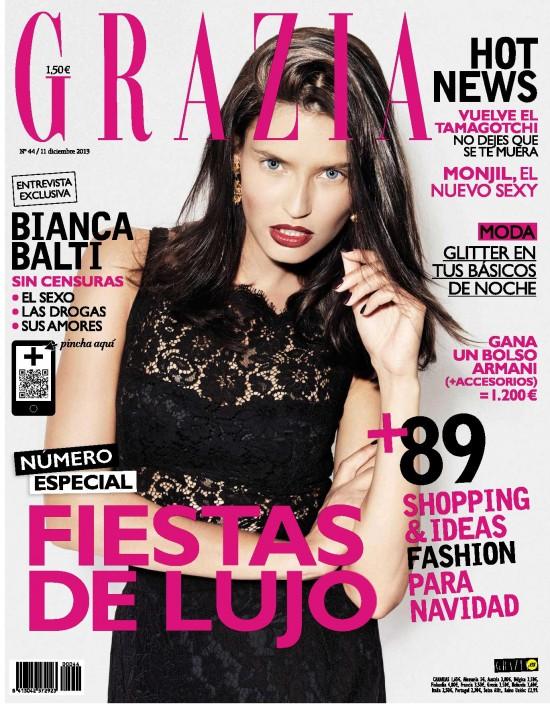 GRAZIA portada 11 de Diciembre 2013