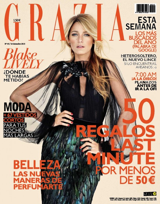 GRAZIA portada 18 de Diciembre 2013