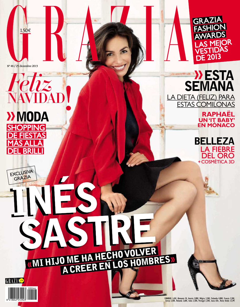 GRAZIA portada 25 de Diciembre 2013