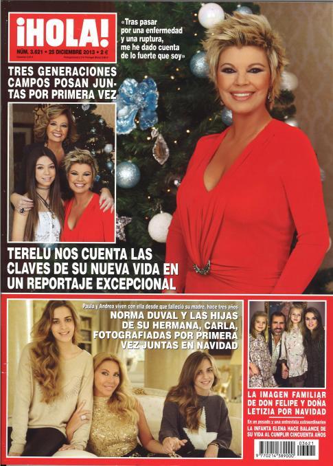 HOLA portada 18 de Diciembre 2013