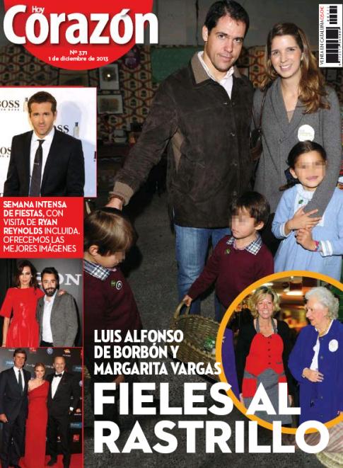 HOY CORAZON portada 2 de Diciembre 2013