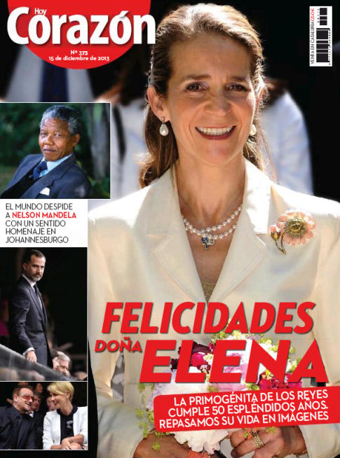 HOY CORAZON portada 16 Diciembre 2013