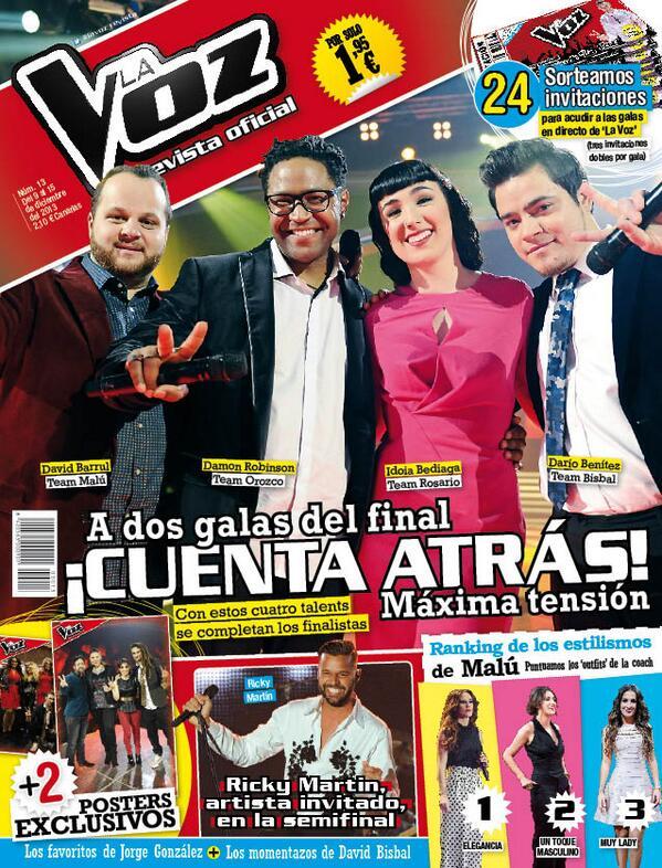LA VOZ portada 11 de Diciembre 2013