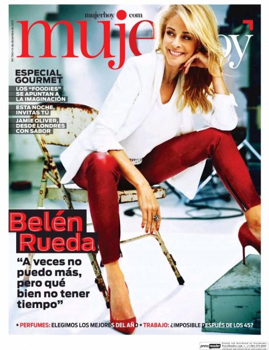 MUJER HOY portada 15 de Diciembre 2013