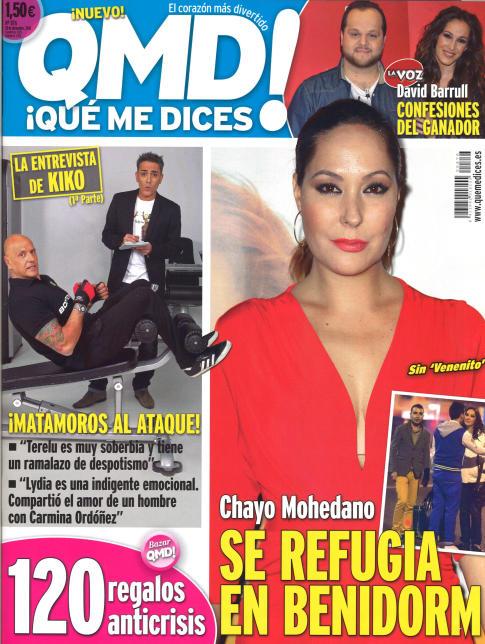 QUE ME DICES portada 24 de Diciembre 2013