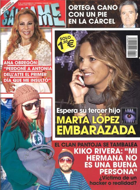 SALVAME portada 16 Diciembre 2013