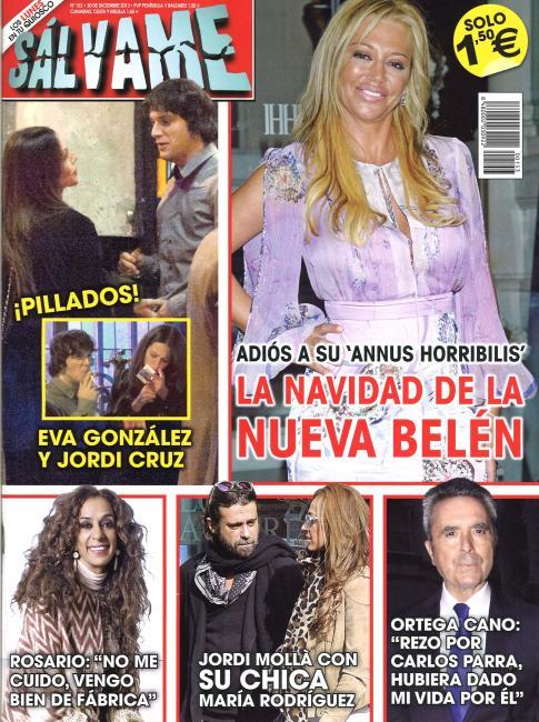 SALVAME portada 23 de Diciembre 2013