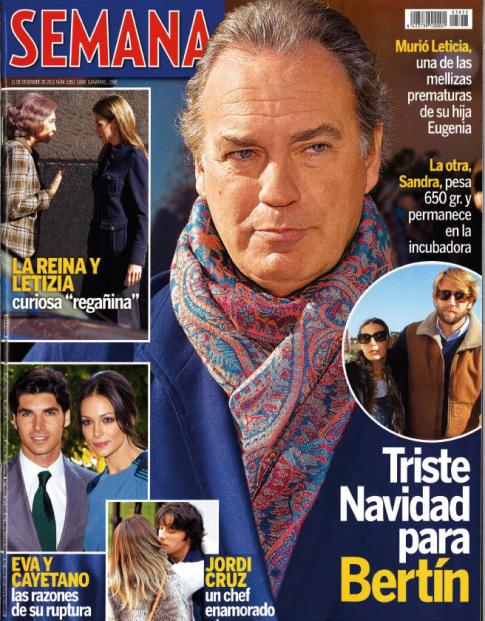 SEMANA portada 4 de Diciembre 2013