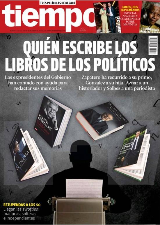 TIEMPO portada 15 de Diciembre 2013