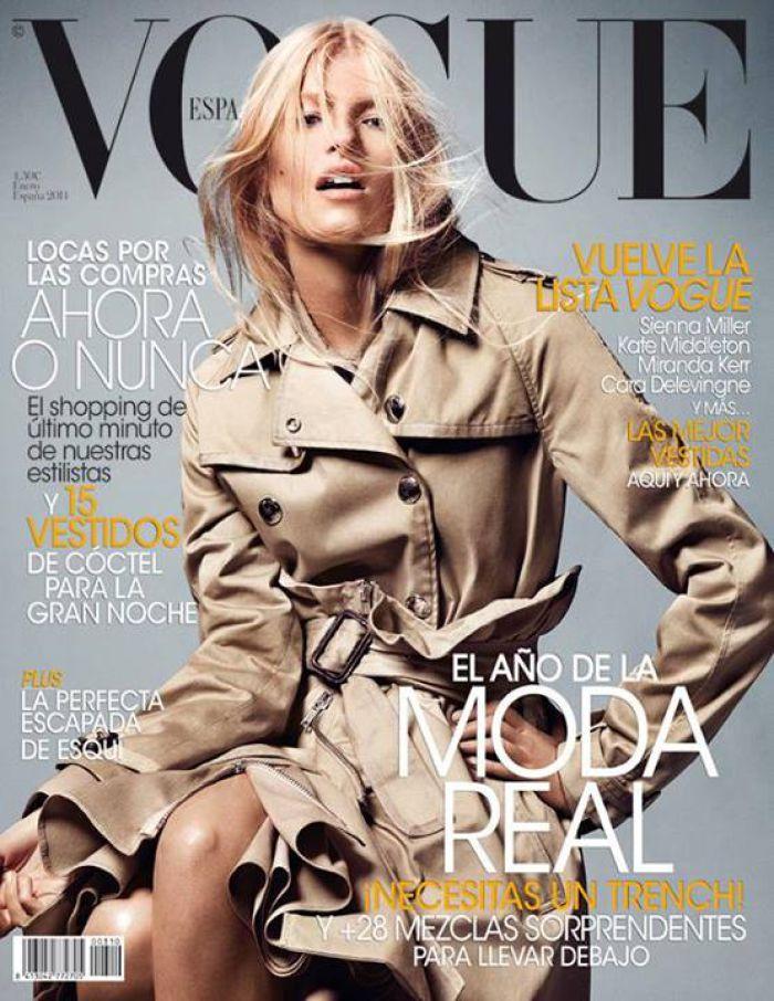 VOGUE portada Enero 2014