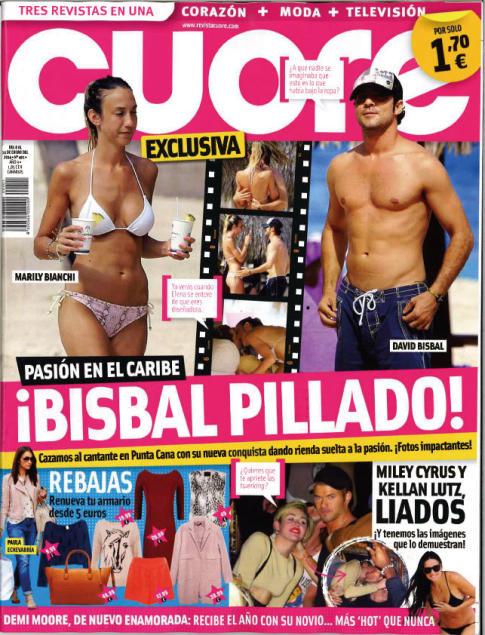 CUORE portada 8 de Enero 2014