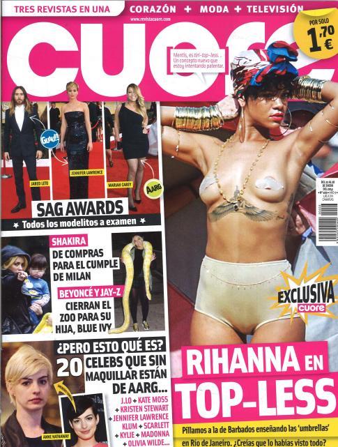 CUORE portada 22 de Enero 2014