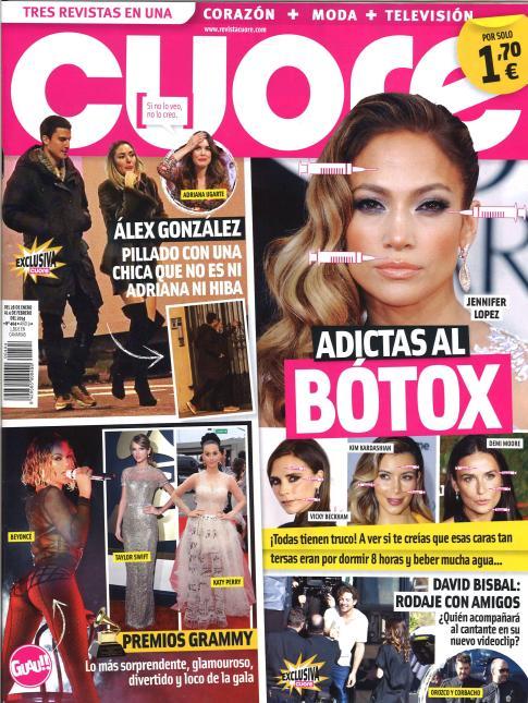 CUORE portada 30 de Enero 2014
