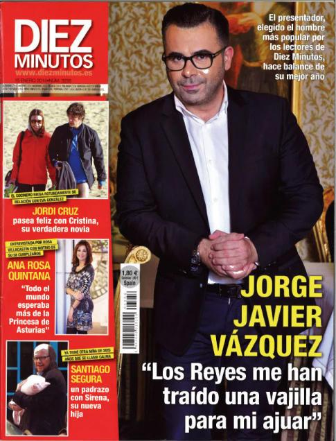DIEZ MINUTOS portada 8 de Enero 2014