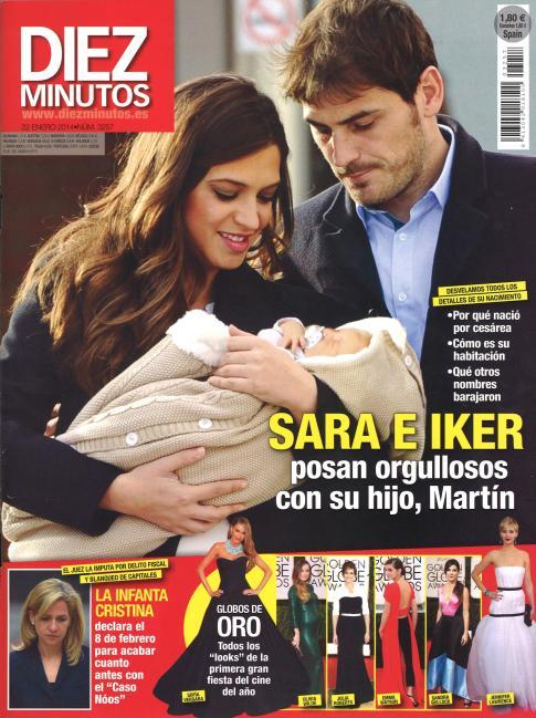 DIEZ MINUTOS portada 15 de Enero 2014