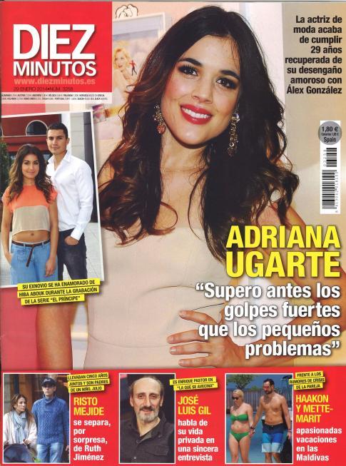 DIEZ MINUTOS portada 22 de Enero 2014