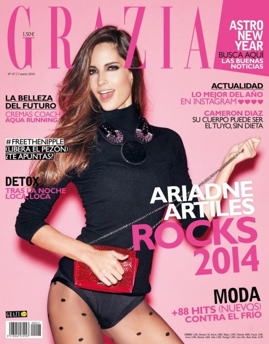GRAZIA portada 1 Enero 2014