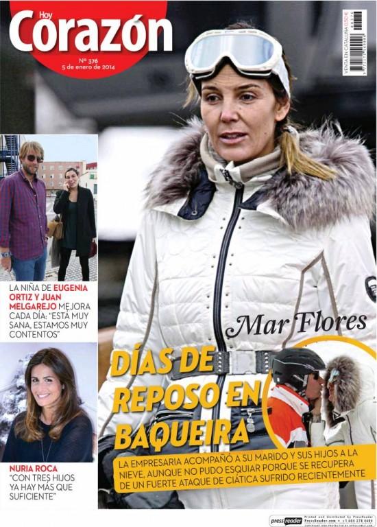 HOY CORAZON portada 7 de Enero 2014