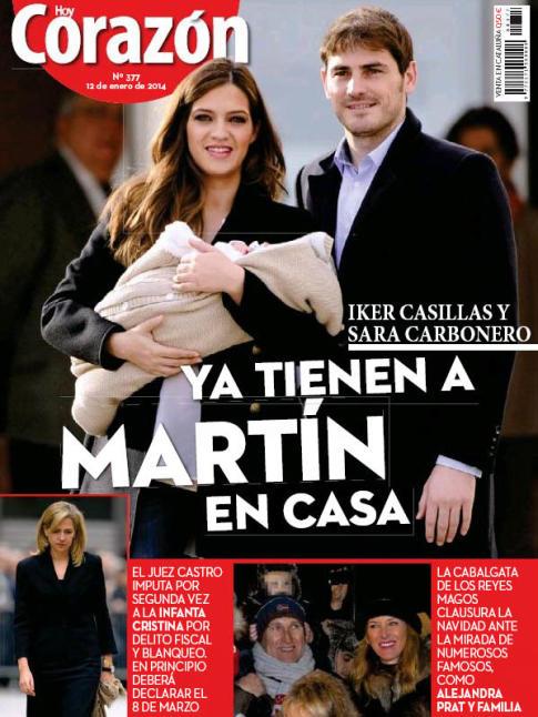 HOY CORAZON portada 13 de Enero 2014