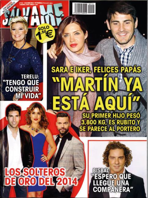 SALVAME portada 7 de Enero 2014