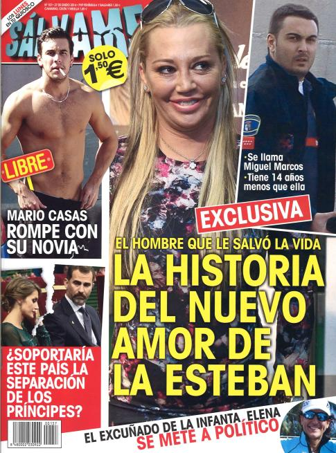 SALVAME portada 20 de Enero 2014