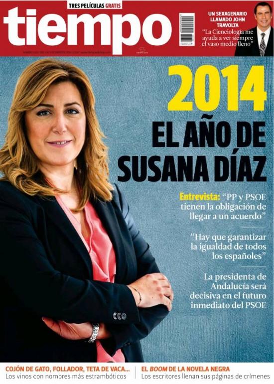 TIEMPO portada 5 de Enero 2014