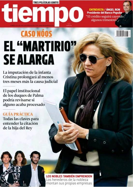 TIEMPO portada 12 de Enero 2014