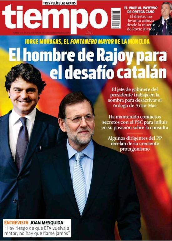 TIEMPO portada 19 de Enero 2014