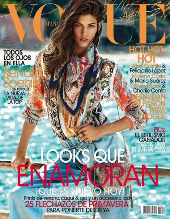 VOGUE portada Febrero 2014