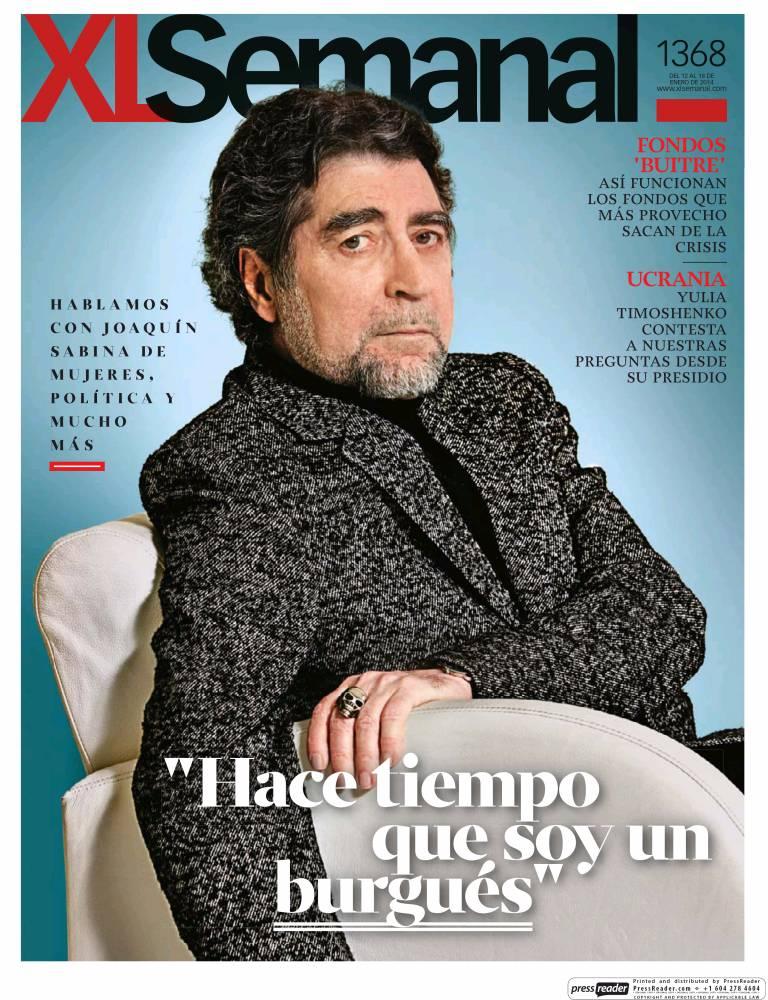 XL SEMANAL portada 12 de Enero 2014