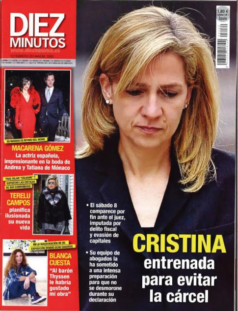DIEZ MINUTOS portadas 06 de Febrero 2014