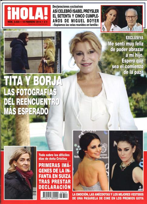 HOLA portada 12 de Febrero 2014