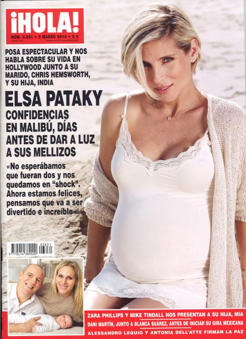HOLA portada 26 de febrero 2014
