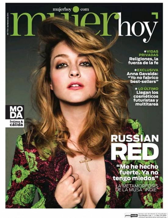 MUJER HOY portada 2 de Febrero 2014