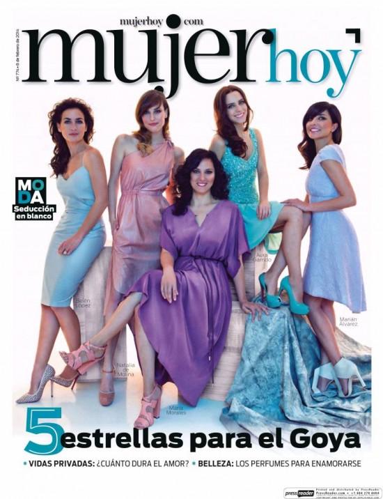 MUJER HOY portada 9 de Febrero 2014