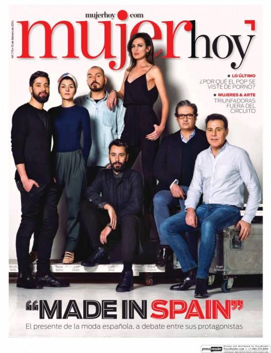 MUJER HOY portada 16 de Febrero 2014