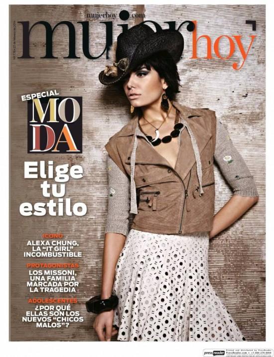 MUJER HOY portada 23 de Febrero 2014